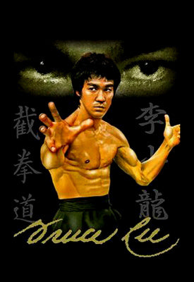 "Bruce Lee ""The Eyes of Jeet Kune Do"" Shaolin Martial Arts Poster - Scorpio Posters"