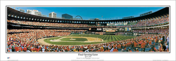 "Busch Stadium ""Final Opening Game"" - Everlasting Images 2005"