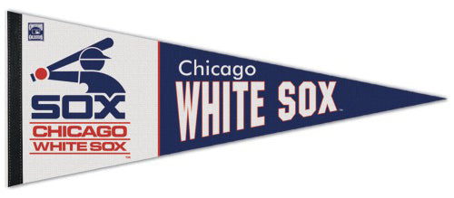 Chicago White Sox Cooperstown Collection 1980s-Style Premium Felt Pennant - Wincraft