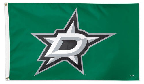 Dallas Stars Official NHL Hockey 3'x5' Deluxe-Edition Team Flag - Wincraft
