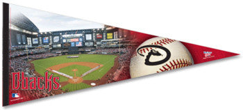 Arizona Diamondbacks Gameday XL Premium Felt Pennant - Wincraft Inc.