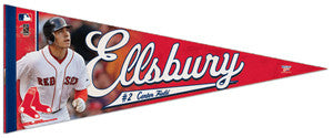 "Jacoby Ellsbury ""Super Action"" Premium Felt Collector's Pennant - Wincraft"