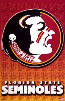 Florida State Seminoles Official NCAA Team Logo Poster - Starline Inc.