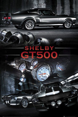 2010 Ford Shelby GT500 Poster - GB Eye Inc.