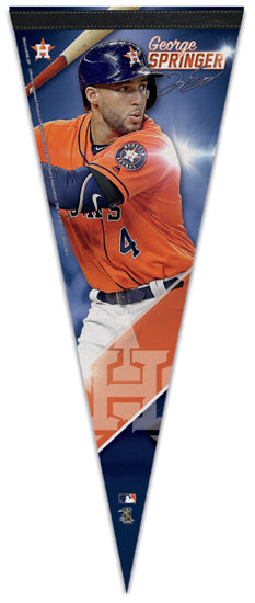George Springer Signature Series Houston Astros Official MLB Premium Felt Pennant - Wincraft Inc.