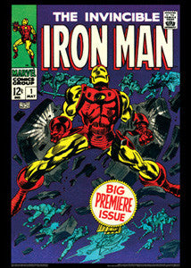 The Invincible Iron Man #1 (May 1968) Vintage Marvel Cover Poster - Asgard Press