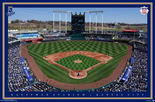 Kansas City Royals Kauffman Stadium Gameday Wall Poster - Trends International