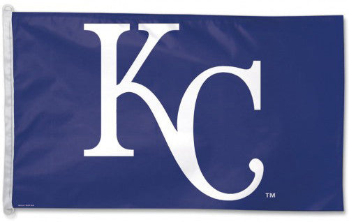 Kansas City Royals Official MLB Baseball 3'x5' Team Banner Flag - Wincraft