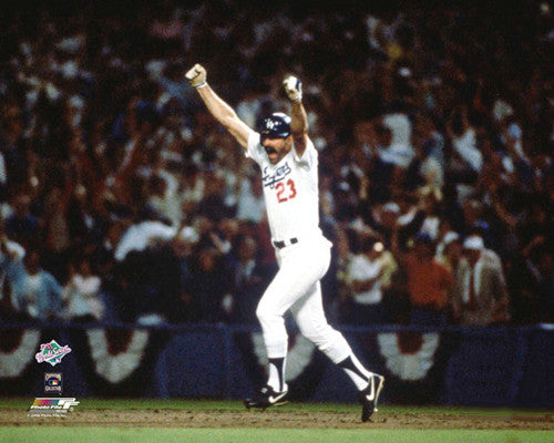 Kirk Gibson 1988 World Series Game 1 Walk-Off Home Run Premium Poster Print - Photofile