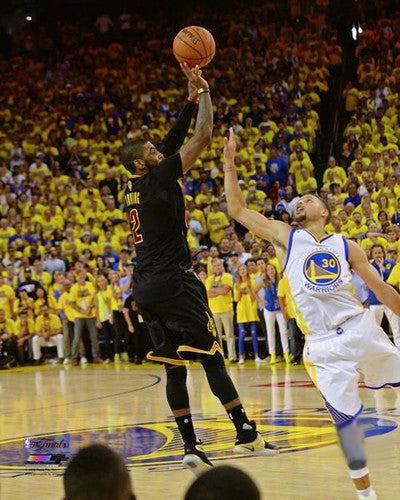 "Kyrie Irving ""The Shot"" (2016 Finals Gm 7) Cleveland Cavaliers Premium Poster Print - Photofile Inc."