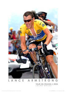 "Lance Armstrong ""L'Alpe Time Trial"" (2004) - Graham Watson"