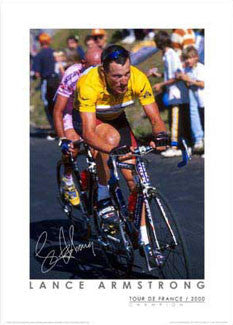 "Lance Armstrong ""Courchevel 2000"" - Graham Watson"