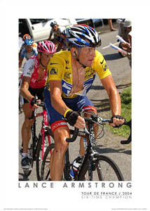 "Lance Armstrong ""Climbing Forclaz"" (2004) - Graham Watson"