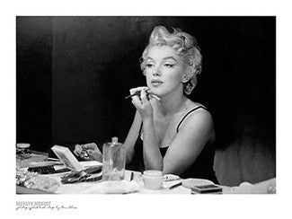"Marilyn Monroe ""Backstage"" (1955) by Sam Shaw - Wizard & Genius"
