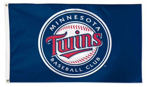 Minnesota Twins Official MLB Baseball 3'x5' Team Banner Deluxe-Edition Flag - Wincraft