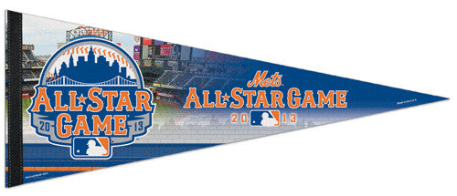 MLB All-Star Game 2013 New York (Mets) Commemorative Premium Felt Pennant - Wincraft Inc.