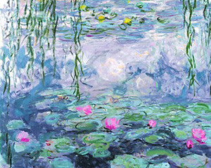 """Nympheas"" (Water Lillies) by Claude Monet 16x20 Print - Eurographics"
