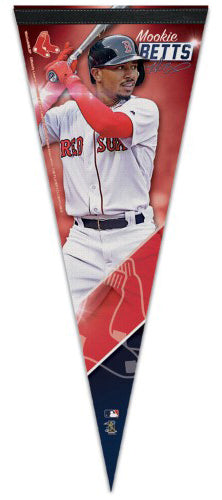 Mookie Betts Boston Red Sox Signature Series Premium Felt Collector's PENNANT - Wincraft