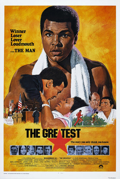 "Muhammad Ali ""The Greatest: My Own Story"" (1977) Boxing Movie Poster Reprint - Eurographics Inc."