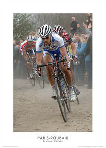 Paris-Roubaix Cycling Race (Tom Boonen at Cysoing) Premium Poster Print - Graham Watson