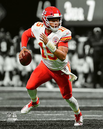 "Patrick Mahomes ""Spotlight"" Kansas City Chiefs Premium Poster Print - Photofile 16x20"