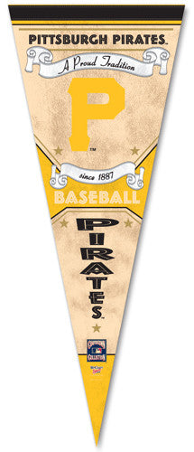 "Pittsburgh Pirates ""Since 1887"" Cooperstown Pennant - Wincraft Inc."