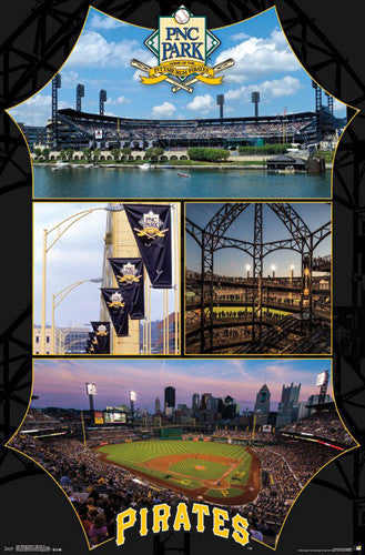 Pittsburgh Pirates Baseball PNC Park Gameday Commemorative Official Poster - Trends International