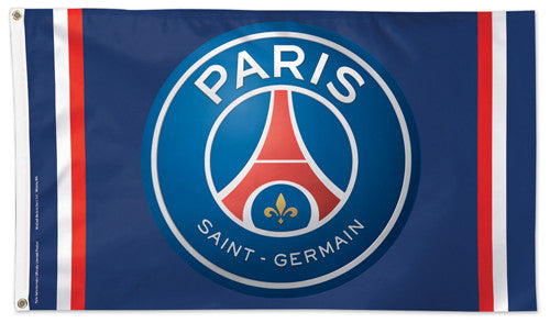 Paris Saint-Germain Football Club PSG FC Official Ligue 1 Soccer DELUXE 3'x5' Team Flag - Wincraft