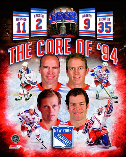 "New York Rangers ""The Core of 1994"" Premium Poster Print - Photofile Inc."