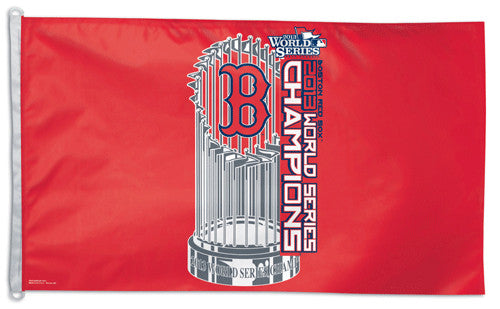 Boston Red Sox 2013 World Series Champs HUGE 3'x5' Flag - Wincraft