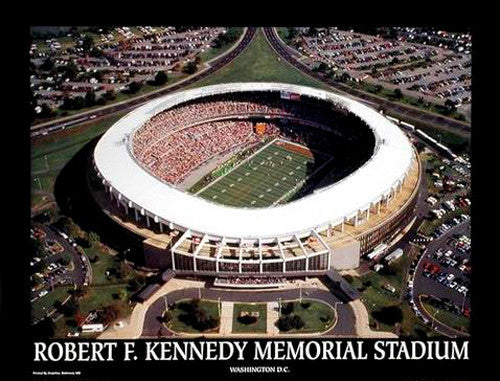 "RFK Stadium ""Classic Aerial"" Washington Redskins Gameday - Aerial Views"