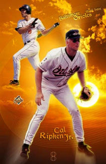 "Cal Ripken Jr. ""Shining Light"" - Costacos 2001"