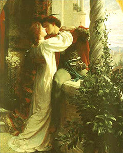 Romeo and Juliet (1884) by Sir Frank Dicksee - Eurographics Inc.