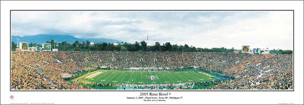"""2005 Rose Bowl"" (Texas 38 Michigan 37) - Everlasting Images"