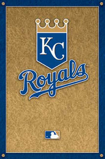 Kansas City Royals Official MLB Logo Poster - Costacos Sports