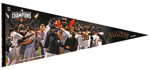 "San Francisco Giants ""Heroes"" 2014 World Series EXTRA-LARGE Felt Pennant - Wincraft"