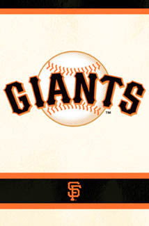 San Francisco Giants Official Logo Poster - Costacos Sports