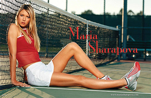 "Maria Sharapova ""Game, Set, Match"" Tennis Poster - Ace Authentic"