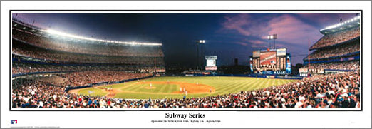 "Shea Stadium ""Subway Series"" Panorama - Everlasting Images"