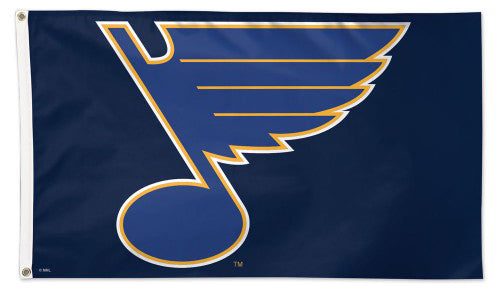 St. Louis Blues Official NHL Hockey DELUXE 3'x5' Team Banner Flag - Wincraft