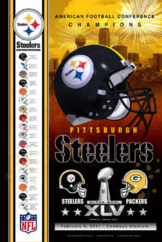 "Pittsburgh Steelers ""Super Season 2011"" - Action Images"
