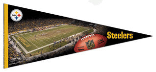 "Pittsburgh Steelers ""Gameday"" Extra-Large Premium Felt Pennant - Wincraft"
