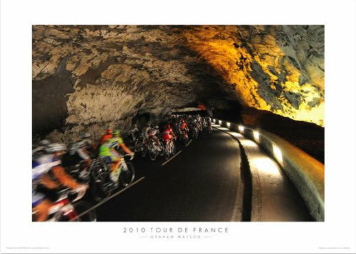 "Tour de France ""In the Grotto"" Premium Poster Print - Graham Watson 2010"