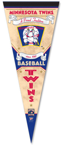 "Minnesota Twins ""Since 1961"" Cooperstown Pennant - Wincraft"
