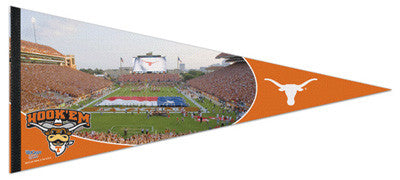 Texas Longhorns Stadium Gameday XL Premium Felt Pennant - Wincraft