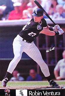 "Robin Ventura ""Power"" Chicago White Sox MLB Action Poster - Marketcom 1992"