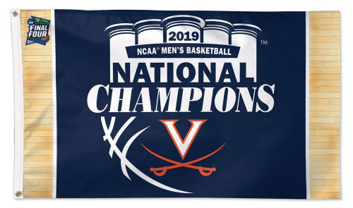 Virginia Cavaliers NCAA Basketball 2019 National Champions Deluxe-Edition 3'x5' Flag - Wincraft Inc.