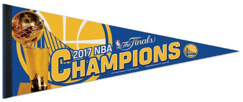 Golden State Warriors 2017 NBA Champions Premium Felt Collector's Pennant - Wincraft