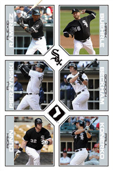 "Chicago White Sox ""6-Stars"" (2011) - Costacos Sports"
