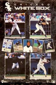 "Chicago White Sox ""9-Stars"" (1991) Poster - Norman James Inc."